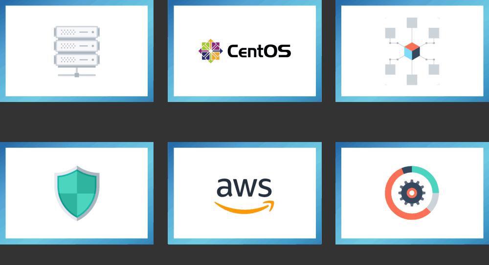 Linux,CentOS,ネットワーク,セキュリティ,AWS,データベース